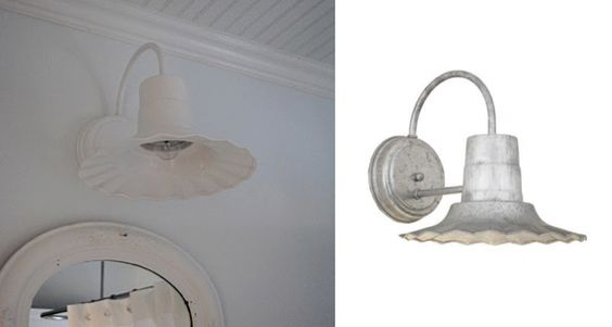 Cottage style bathroom light fixtures cottage style for Cottage style bathroom lighting