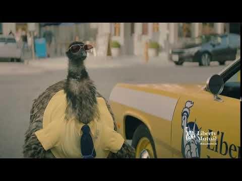 Limu Emu Doug Keys Bumper Liberty Mutual Insurance Youtube