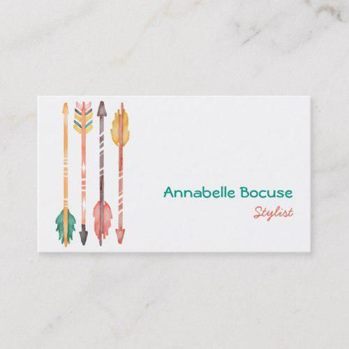 Pin On Bohemian Business Cards