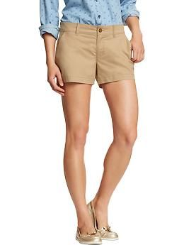 Womens Everyday Khaki Shorts from Old Navy (http://oldnavy.gap.com ...