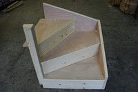 KITEWINDER Staircase : Plywood Frame : Domestic