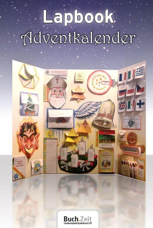 Lapbook adventkalender adventskalender for Weihnachten grundschule ideen