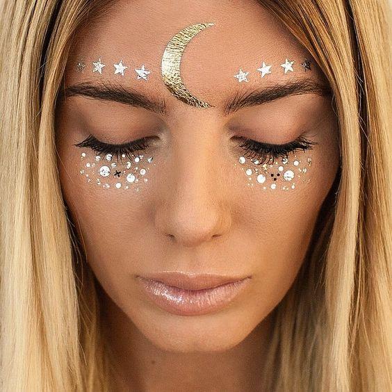 adesivos para maquiagem de carnaval