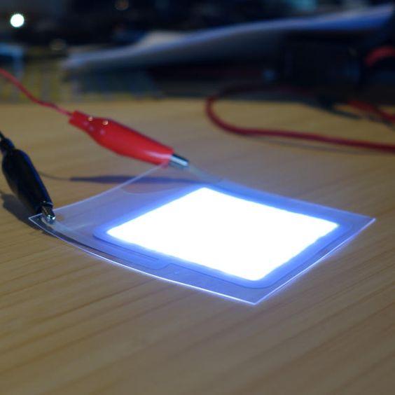 Des chercheurs américains ont réussi à créer un papier qui génère de la lumière !