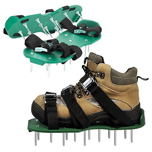 Aerate Lawn Spike Shoes Garden Boots