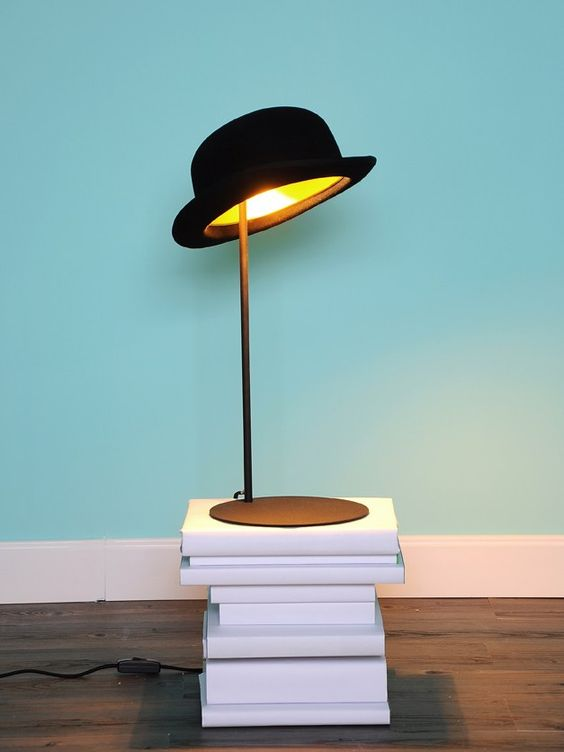 direct light aluminium table lamp jeeves by innermost design jake phipps hat black hat unique lighting