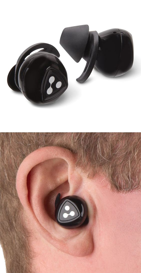 The Truly Cordless Earbuds - These are the earbuds without cords of any kind, freeing the wearer to multi-task while listening to music or talking on the phone. Without the tangle-prone cord that connects typical wireless earbuds, these have controls built into each bud that replace those found in corded in-line models. #backtoschool