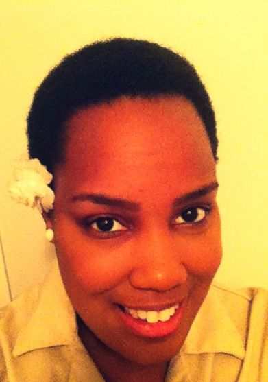Wash, condition, moisturize, detangle, pat and go TWA! Check out my natural hair journey @ www.youtube.com/tk7773