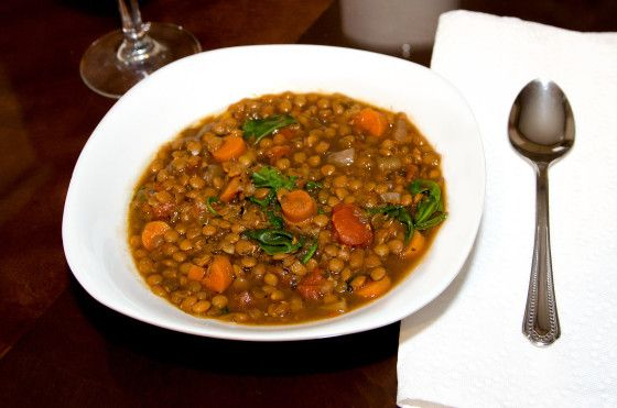 This delicious Lentil Soup is delicious, easy, and healthy.