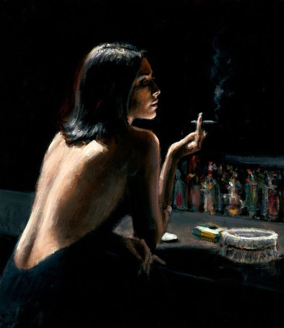 Fabian Perez, one of my favorite artists: