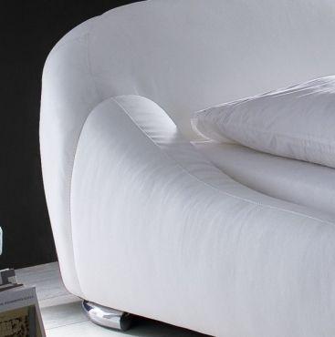 Polsterbett Susanne 2 #weiß #Möbel #Polsterbett #Bett #Schlafzimmer