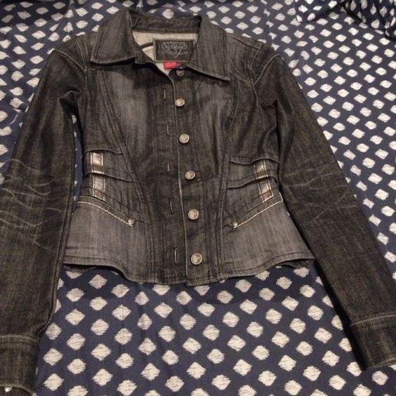 Guess premium stretch denim jacket XS Guess premium stretch denim jacket XS Guess Jackets & Coats Jean Jackets