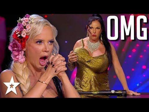 Judges Are Horrified At Her Huge Talent Got Talent Global
