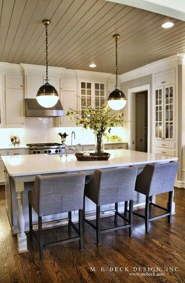 Ceilings, Islands and Kitchen islands on Pinterest