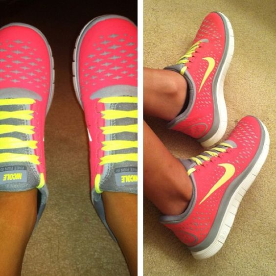 yessss !: Running Shoes, Nike Shoes, Nikes, Nike Free Runs, Shoes Shoes, Pink Nike, Tennis Shoes