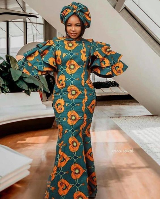 Zahra Entari 100 Most Exceptional and Creative Ankara Styles for Beautiful African Ladies To ...
