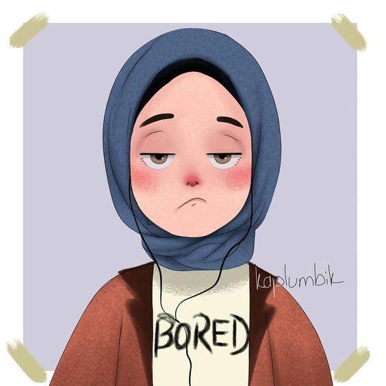 215 Gambar Kartun Muslimah Cantik Lucu Dan Bercadar Hd Di 2020 Gambar Ilustrasi Karakter Lukisan Wajah