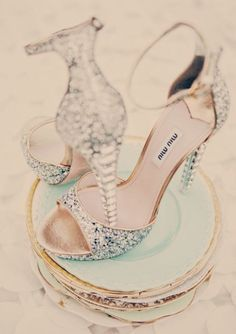 Scarpe luccicanti sposa! http://www.nozzemeravigliose.it/mywedding.php?id=16