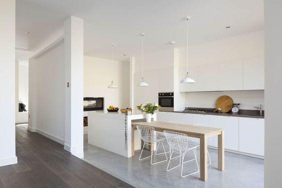 Annis Road -  white Kitchen
