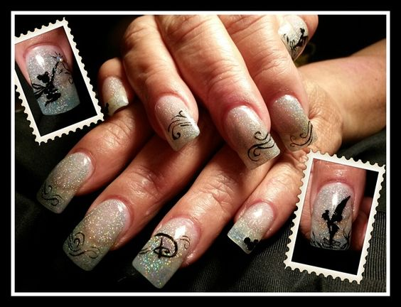 Shes gointodisneylandbyivystar nailartgallery shes gointodisneylandbyivystar nailart prinsesfo Gallery