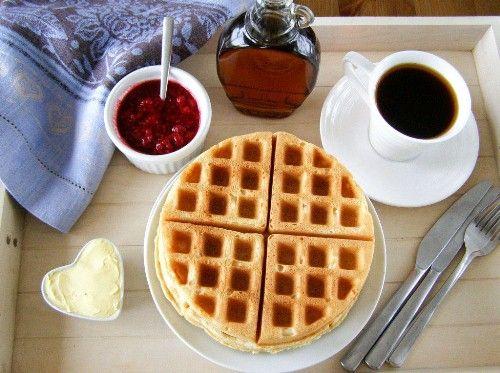 vegan pancakes/waffles