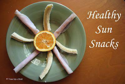 Healthy Sun Snacks: