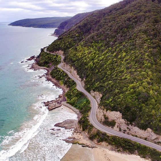 The Greatest Road in Victoria  #greatoceanroad#visitvictoria#visitgreatoceanroad#visitmelbourne#seeaustralia#australia#exploreaustralia#seegor#natgeo#drone#dronephoto#droneshot#droneporn#dronegear#dronartwork#djiglobal#dji#inspire1#lovetheworld#droneair_australia#travel#traveller#mustsee#dronefly#fromabove#droneheroes by droneair_australia