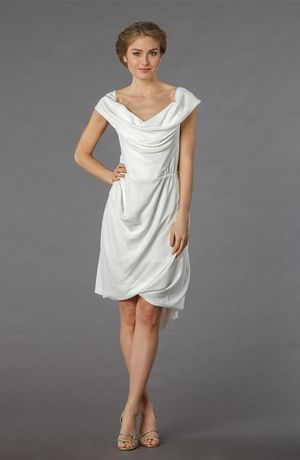 Vivienne Westwood:: Scoop Cocktail Length Wedding Dress with ...