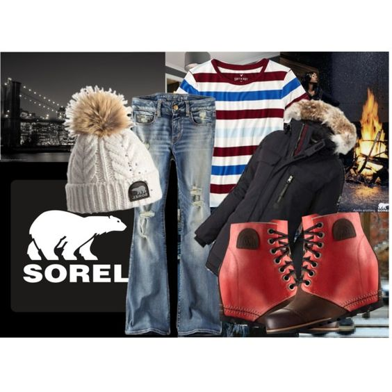 The 1964 Premium Wedge from SOREL: Contest Entry by dayday1andonly on Polyvore…