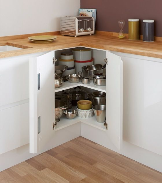 meuble angle cuisine rangement
