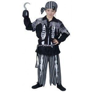 d guisement pirate squelette gar on halloween pirates et d guisements. Black Bedroom Furniture Sets. Home Design Ideas