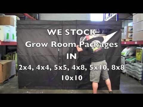 How To Setup Vent A Grow Room Tent Package Youtube Grow Room Room Packages Growing