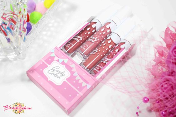 Candy Color Matte Lip Cream Carnival
