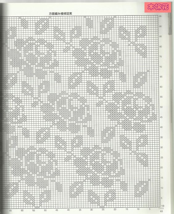 Knitting Rose Stitch : Filet crochet and search on pinterest