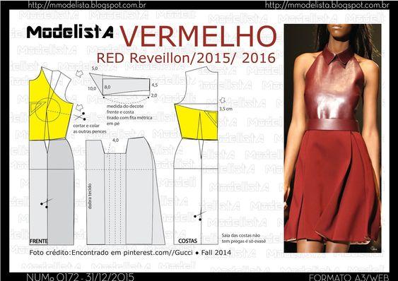 ModelistA: A3 NUMo 0172 REVEILLON VERMELHO