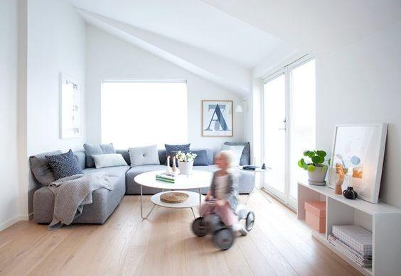 Una casa con mucha luz y de decoración limpia y sencilla | Decoración