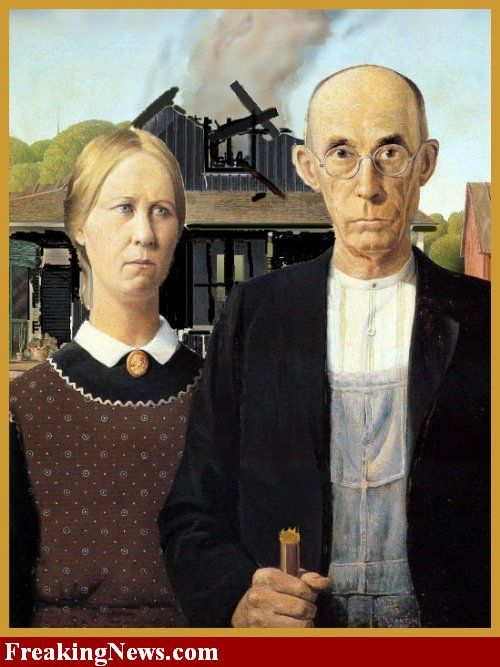 American Gothic | American Gothic funny images