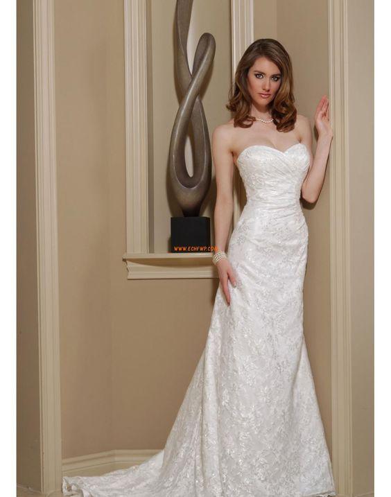 Frühling 2014 Sommer Reißverschluss Brautkleider 2014