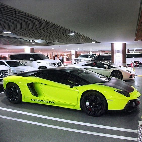 Neon Aventador  Follow @Lambo_Motorsports  Freshly Uploaded To www.MadWhips.com  Photo by @k_cars
