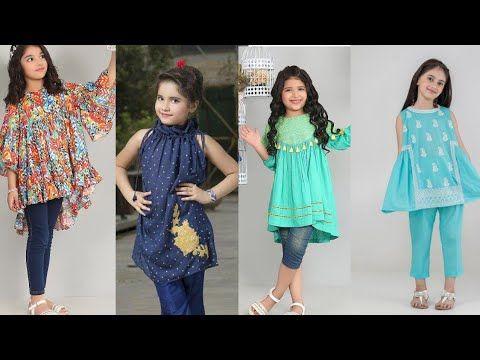 Beautiful Baby Girl Dresses Designs Baby Girl Cotton Kurti Designs Designers Kids Kurti Des Kids Frocks Design Baby Frocks Designs Beautiful Baby Girl Dresses