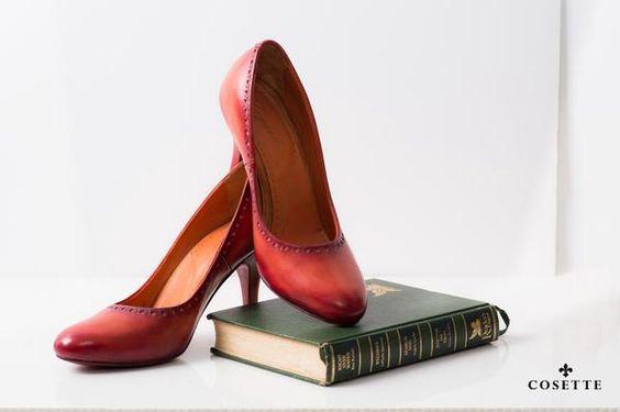 #shoes #shoesmaker #fashion #cosette #giay Giày FU05B màu đỏ ruby – Nhãn hiệu thời trang Cosette