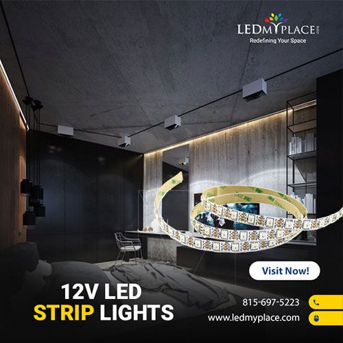 12v Led Strip Lights By Ledmyplace For Your Indoor And Outdoor Lighting Application Led 12v Rgb Led Str 12v Led Strip Lights Led Strip Lighting Strip Lighting