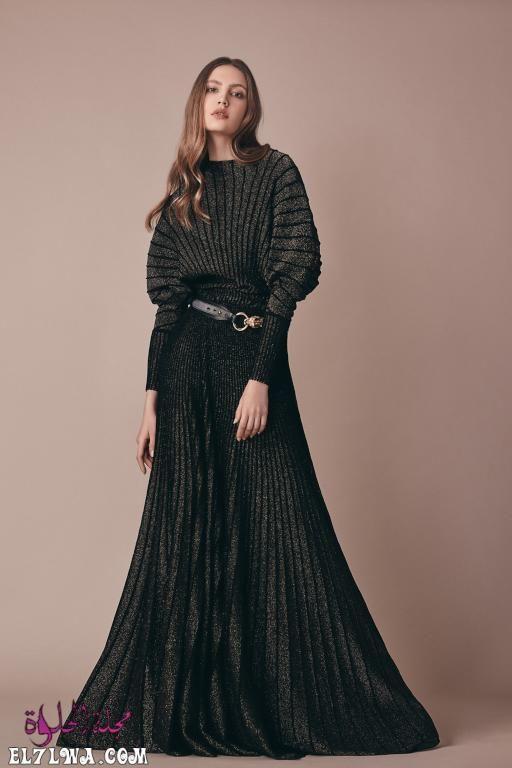 فساتين سهرة محتشمة 2021 صور فساتين محجبات 2021 تبحث المرأة العربية العاشقة للإطلالة المحتشمة والراقية في البحث عن In 2020 Modest Evening Dress Evening Dresses Dresses