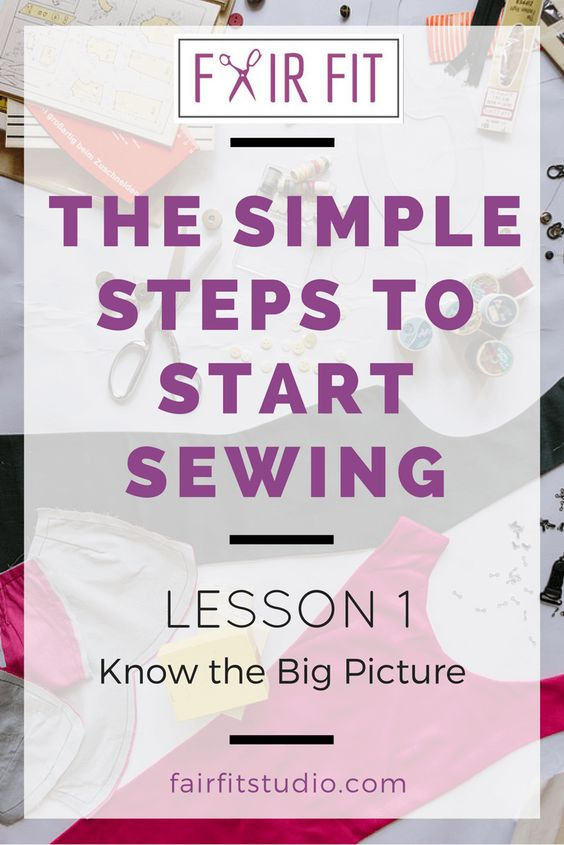 Want to learn how to sew for real? This 6-part blog post series + free workbook…