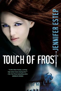 ★★ Review: Touch of Frost (Mythos Academy, #1) by Jennifer Estep || pinkindle.net