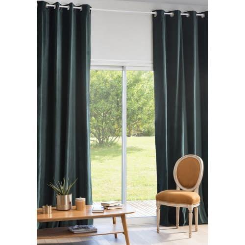 Osenvorhang Aus Smaragdgrunem Samt 1 Vorhang 140x300 Maisons Du Monde In 2020 Osenvorhang Vorhange Vorhange Grun