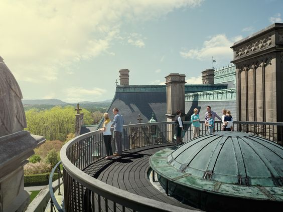 Biltmore House- 4th floor- Rooftop above the grand staircase on rooftop tour