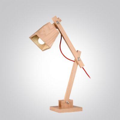 Kaufen Holz Tischleuchte Schwenkbarer Arm im Kinderzimmer mit Günstigste Preis und Gute Service!