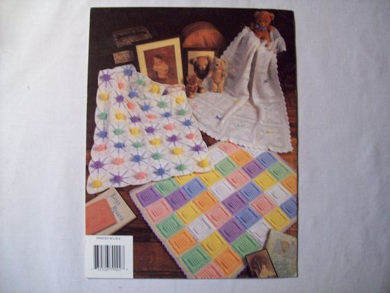Pastels on Parade Crochet Baby Blanket Pattern by CozyHomeCrochet