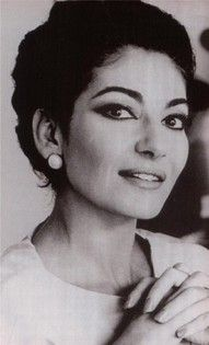 Maria Callas ~ WORLD RENOWNED OPERA SINGER & LONG TIME GIRL FRIEND OF ARISTOTLE ONASIS PRIOR TO JACKIE O ~